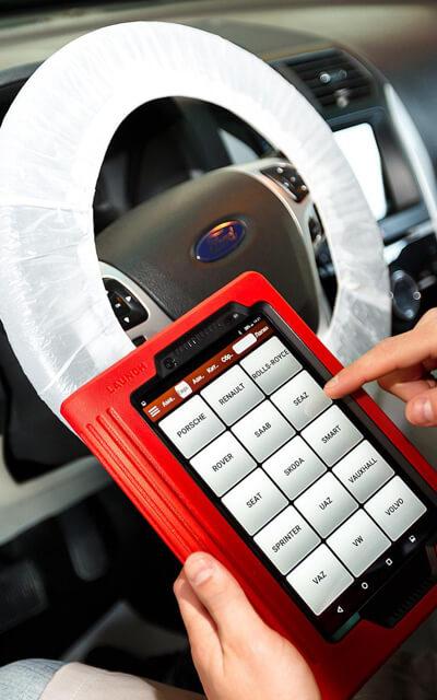 Диагностика автомобиля сканером