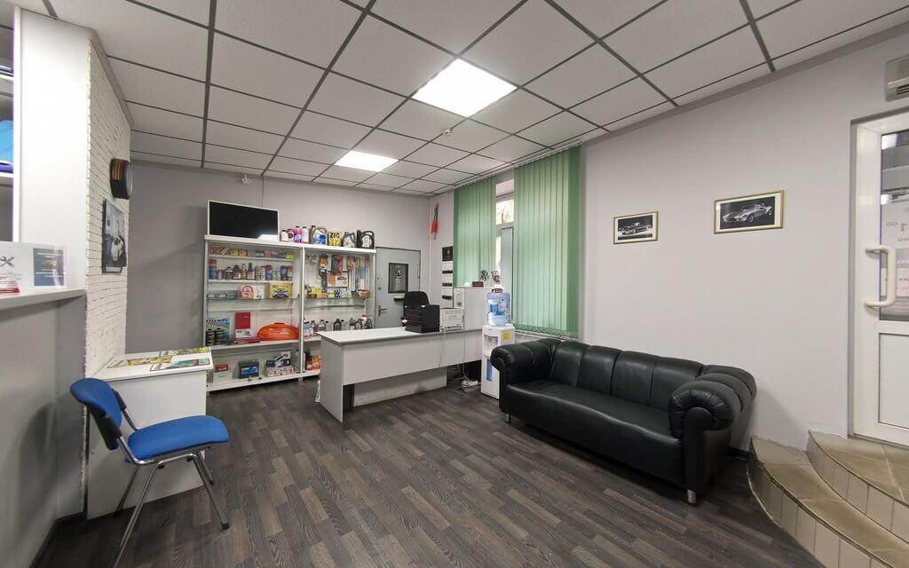 Открытие автосервиса - помещение для работы с клиентами