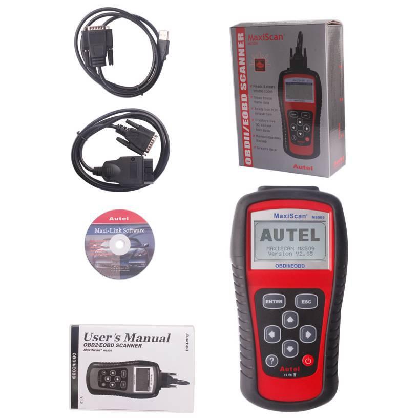 Автосканер Autel MaxiScan MS509